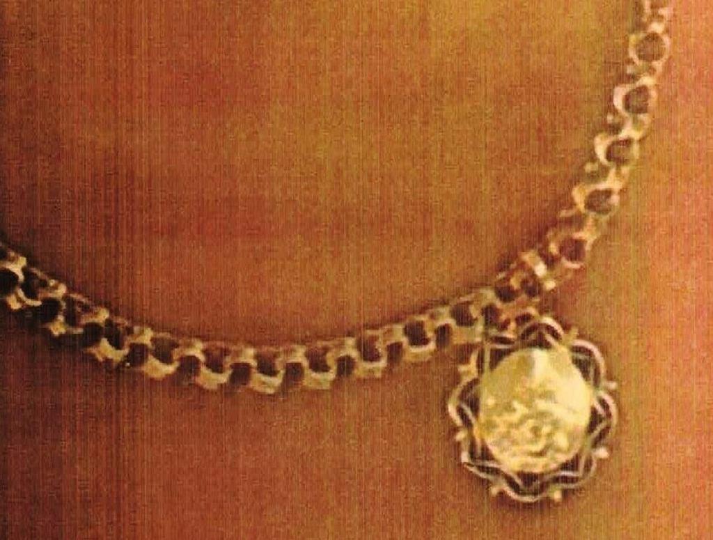 Biżuteria skradziona w Lidzbarku