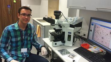 Maciej Mańska (Akademicki Zespół Szkół Ogólnokształcących w Chorzowie) zbadał technologię wytwarzania sztucznych organów na chipach