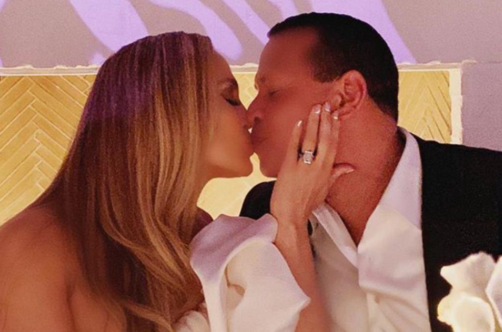 Przyjęcie zaręczynowe Jennifer Lopez i Alexa Rodrigueza