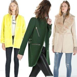 Zara: okrycia wierzchnie na nowy sezon