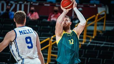 Aron Baynes, środkowy reprezentacji Australii