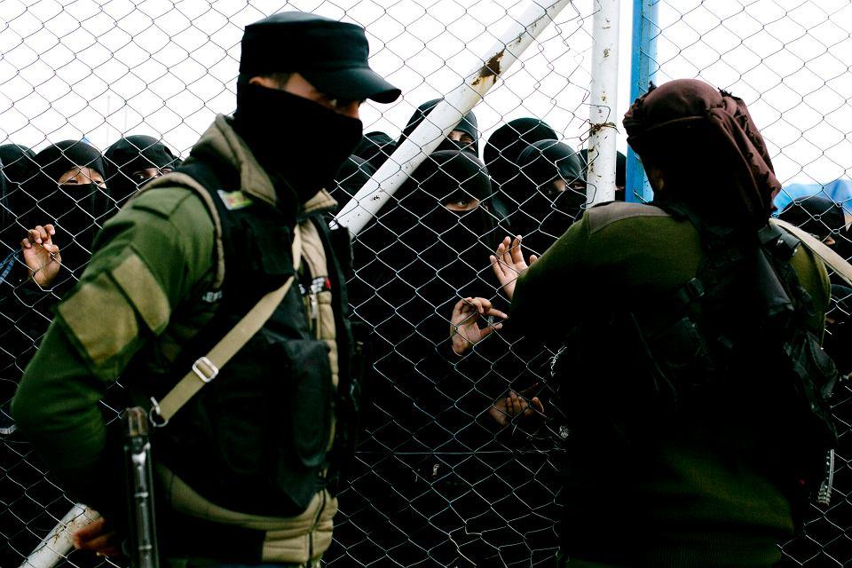 Obóz dla żon i dzieci bojowników Państwa Islamskiego w Al-Hawl w północnej Syrii, 31 marca 2019 r.