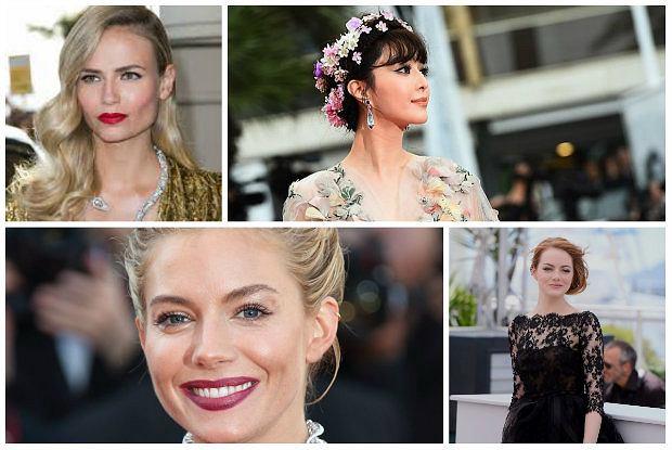 Cannes 2015 Najlepsze Fryzury Festiwalu Zobacz