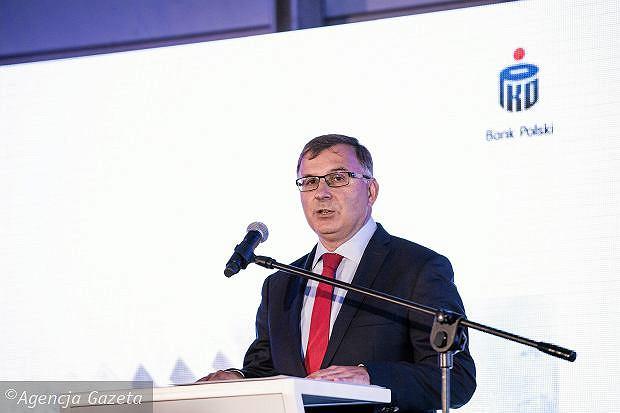 Prezes banku PKO BP, Zbigniew Jagiełło