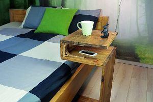 łóżko Półka Wnętrzaaranżacje Wnętrz Inspiracje