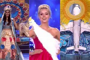 """Miss Polski z """"orłem"""" pod pachą, ale wiele uczestniczek konkursów piękności miało dziwne stroje. Jedna była... samolotem, inna ptakiem"""