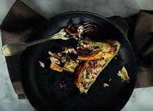 Kulebiak z kapustą, świeżymi grzybami i trocią - ugotuj