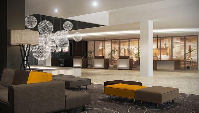 Remont Dawnego Hotelu Forum Nowe Lobby Lepsze Pokoje