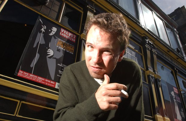 D 34163-08 Doug Stanhope. Obligatory Credit - CAMERA PRESS/Phil Wilkinson/TSPL. Controversial American comedian Doug Stanhope, who is making a return to Edinburgh in August 2004, almost two years after his 2002 show in the Scottish capital received condemnation for his criticism of the post-9/11 hero culture. Stanhope, whose offensive material has managed to attract both acclaim and mass protests, is performing at the Edinburgh Comedy Room from 25th August. 2004