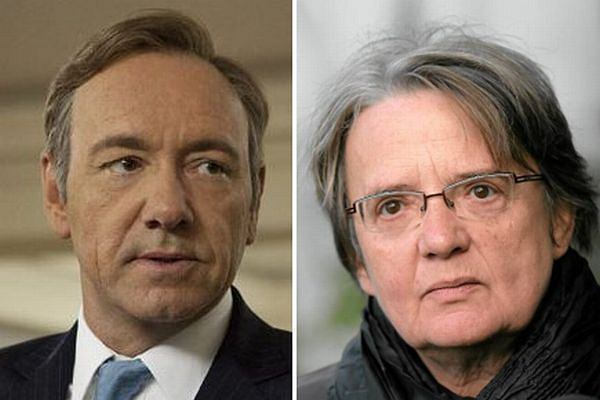 Kevin Spacey jako Frank Underwood/Agnieszka Holland
