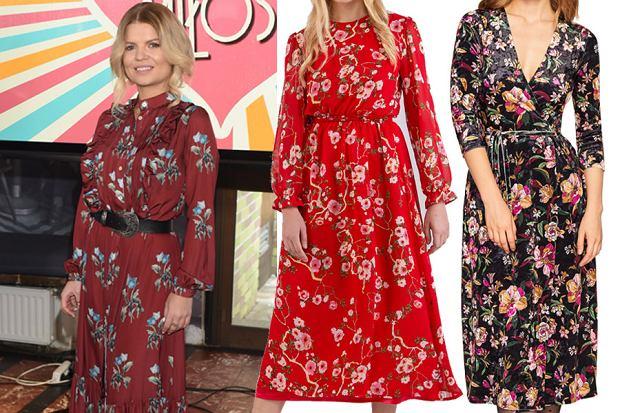 sukienki w kwiaty / mat. partnera / WBF