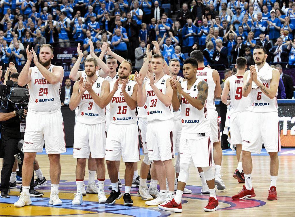 Reprezentanci Polski po meczu z Islandią