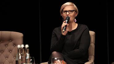 Kielce, 30 listopada 2019 roku, KCK. Konferencja ' Kobiety wiedzą co robią'. Spotkanie z Otylią Jędrzejczak
