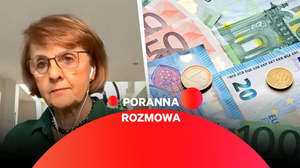Danutą Hübner gościnią Porannej rozmowy Gazeta.pl