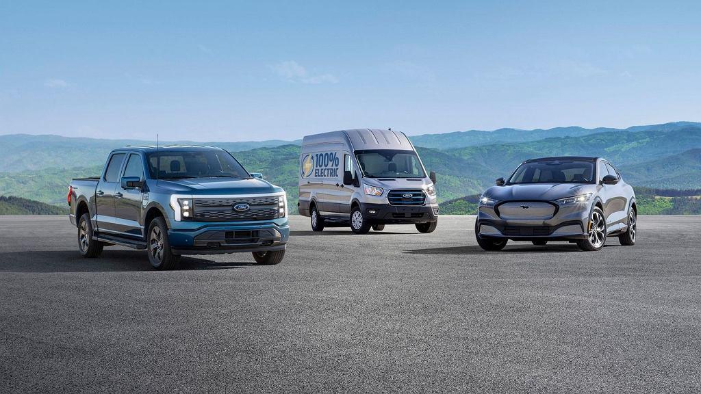Rodzina elektrycznych Fordów