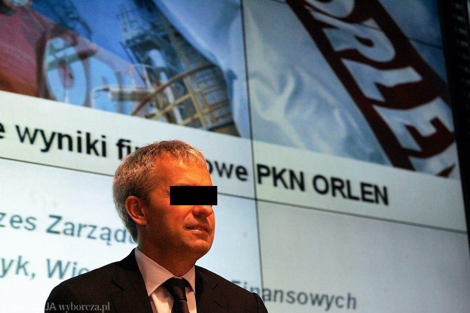 Były prezes Orlenu Jacek K.