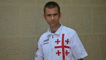Maciej Rosiewicz, chodziarz z Kalisza, który reprezentuje Gruzję