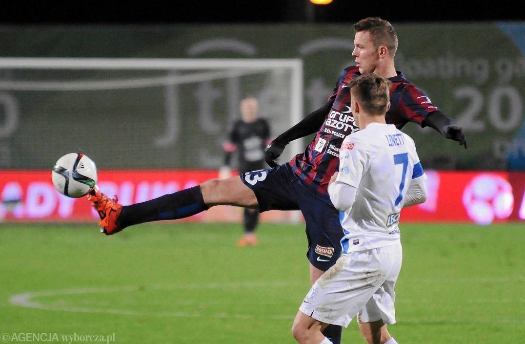 Pogoń Szczecin - Lech Poznań 0-2. Mateusz Matras