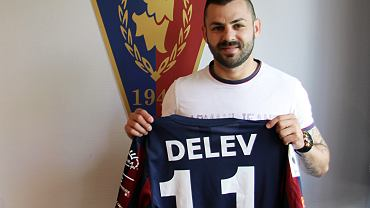 Spas Delev nowym piłkarzem Pogoni Szczecin
