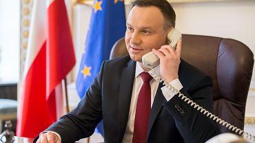 W dniu 20 grudnia 2019 r. z inicjatywy strony ukraińskiej odbyła się rozmowa telefoniczna Prezydentów Andrzeja Dudy oraz Wołodymyra Zełenskiego.