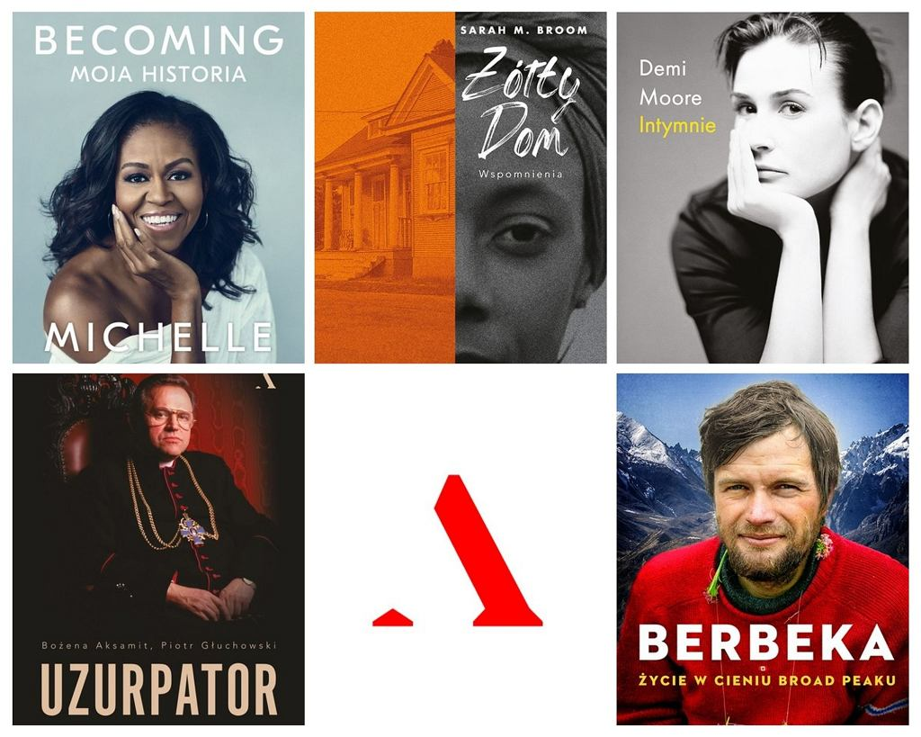 Top 5 biografii z Wydawnictwa Agora