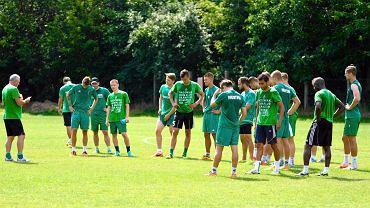 Wśród trenujących piłkarzy Radomiaka są także testowani zawodnicy