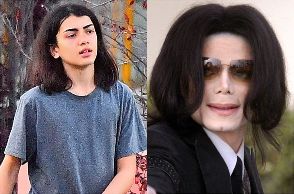 Blanket Jackson, Michael Jackson
