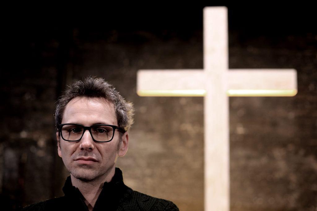 Reżyser ''Klątwy'' Oliver Frljić (fot. Jacek Marczewski / Agencja Gazeta)