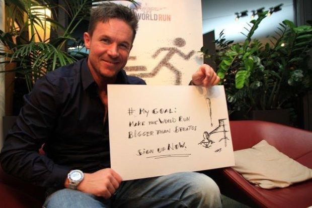 Felix Baumgartner, znani dziennikarze i biegacze wspierają Wings For Life World Run