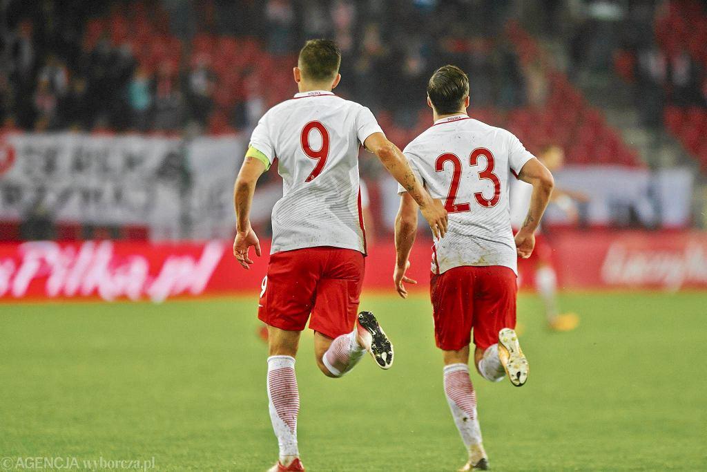 Eliminacje MME 2019. Polska - Finlandia 3:3. Mecz na stadionie Widzewa.