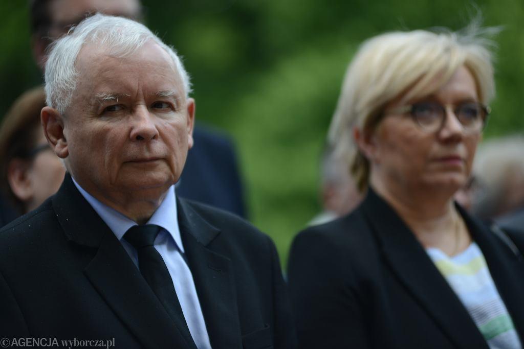 Jarosław Kaczyński, Julia Przyłębska