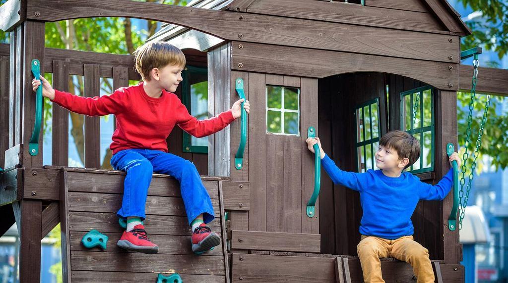 Domek ogrodowy dla dzieci.