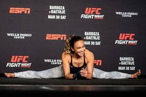 UFC 235. Michelle Waterson pokazała umiejętności karate przed walką z Kowalewicz