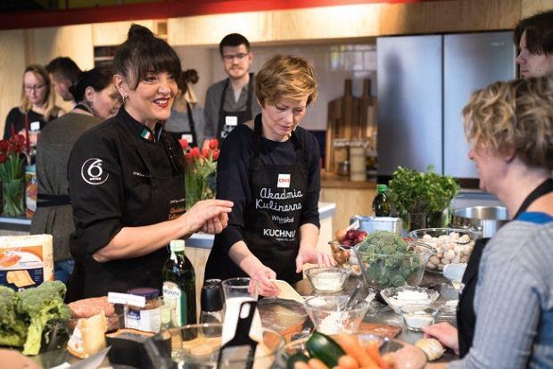 Cristina Catese, ekspertka kuchni włoskiej, dawała cenne wskazówki