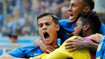 Neymar w meczu Brazylia - Kostaryka 2:0. Mistrzostwa Świata w Piłce Nożnej w Rosji. St. Petersburg, 22 czerwca 2018