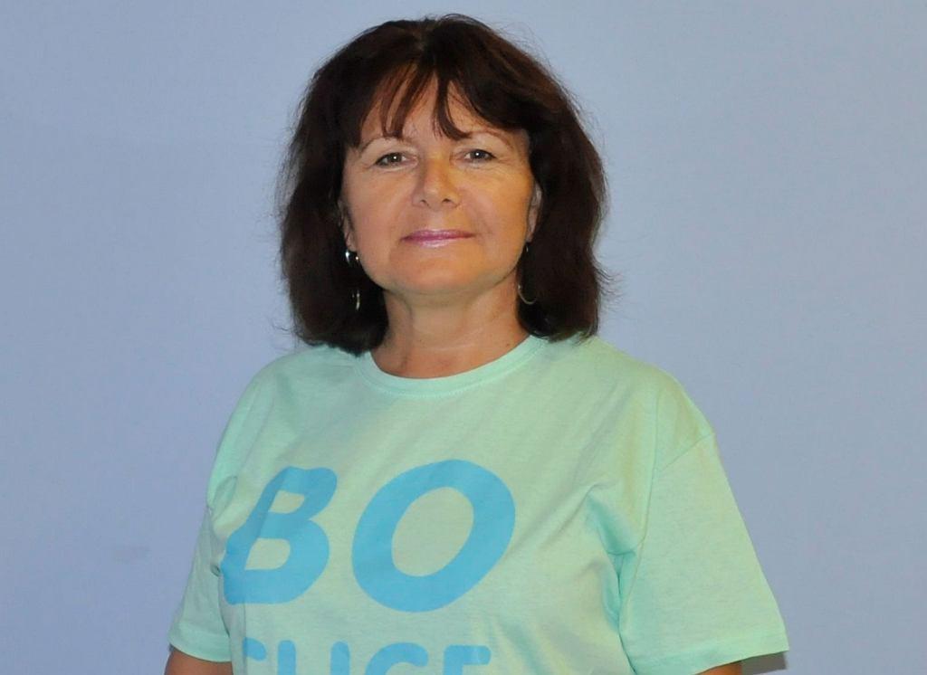 Grażyna Romańczukiewicz, pielęgniarka z Wrocławskiego Hospicjum dla Dzieci