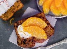 Chlebek marchewkowo-pomarańczowo-daktylowy - ugotuj