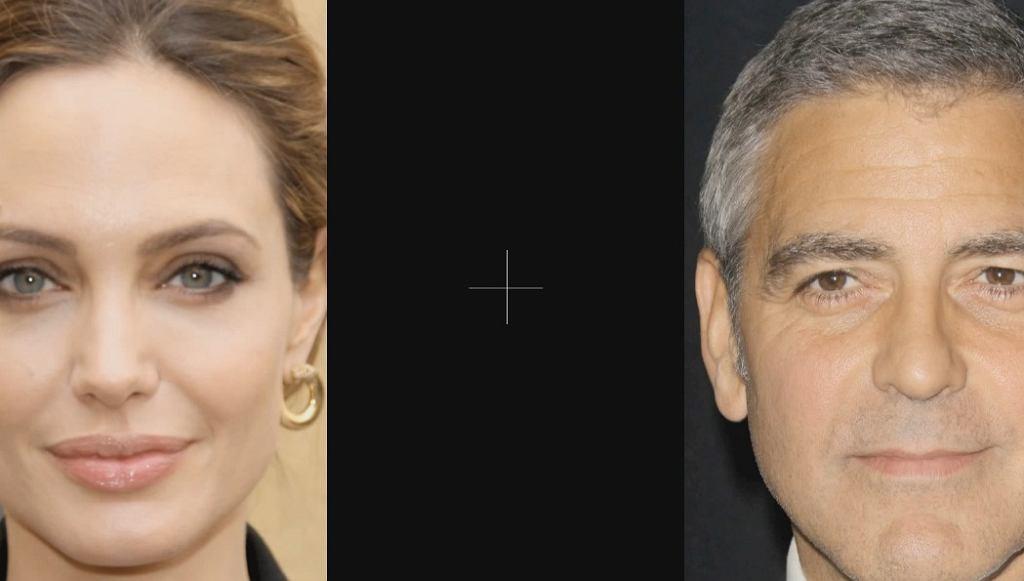 Iluzja optyczna zniekształcająca twarze.