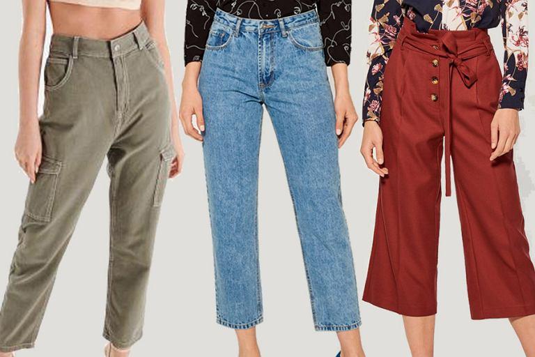 2adc70c15a2eb6 Trzy najmodniejsze modele spodni - zoom na fason typu mom.