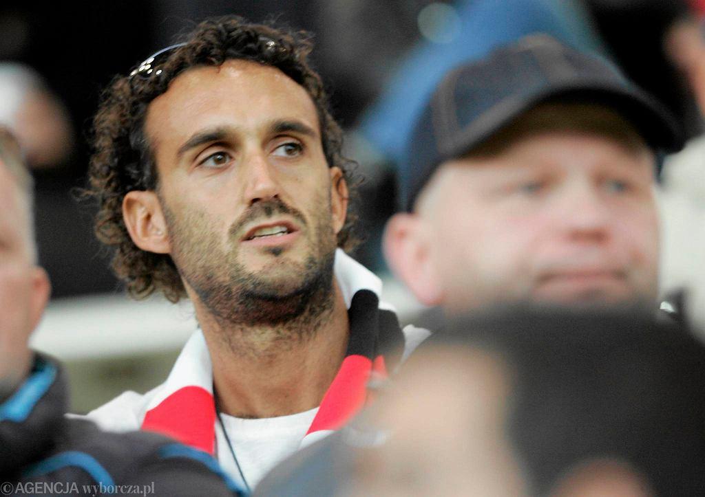 Alessandro Della Valle na meczu Polonia - Czarni (3:0)