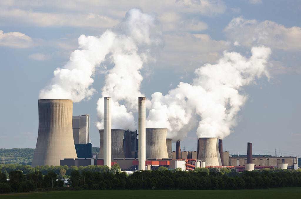 Niemcy. Elektrownia węglowa