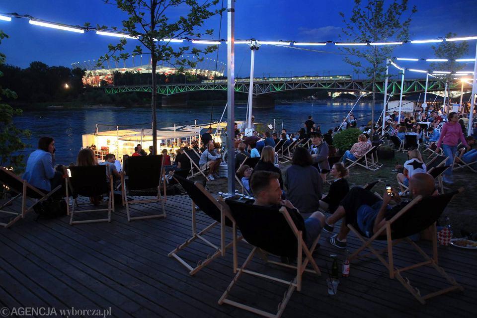 Warszawa. Klub Plac Zabaw nad Wisłą