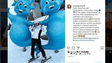 Anita Lipnicka - mama spędza ferie z nastoletnią córką