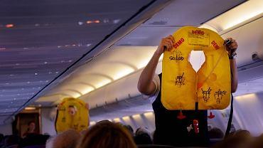 Procedury bezpieczeństwa w samolocie