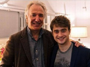 Daniel Radcliffe, Alan Rickman