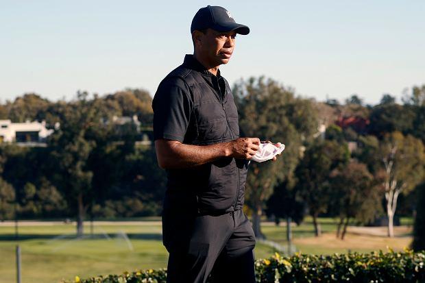Tiger Woods, ikona golfa, w szpitalu. Miał wypadek samochodowy