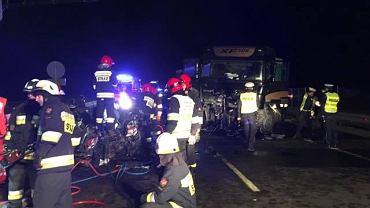 Wypadek na drodze S3 w Gorzowie