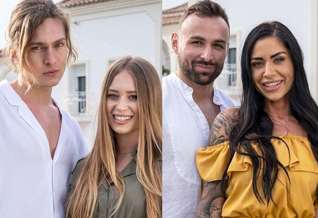 'Love Island. Wyspa miłości' Daniel i Natasha i Stella i Piotrek