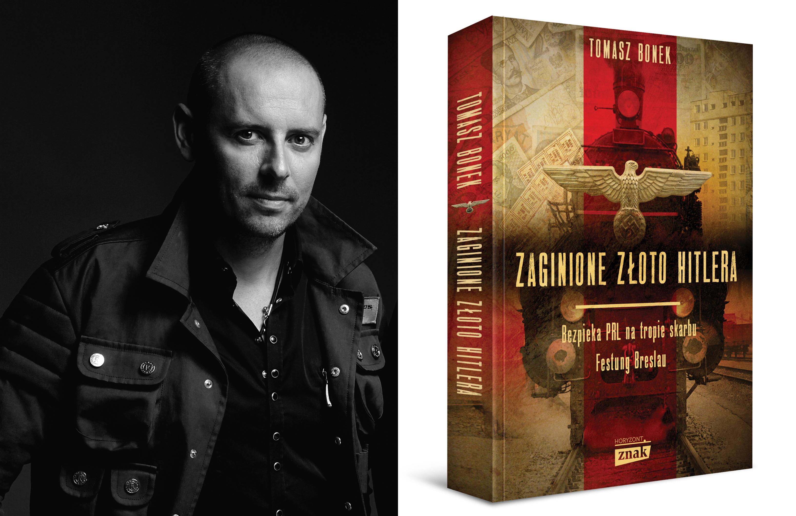 Tomasz Bonek, autor książki 'Zaginione złoto Hitler' (fot. Bartek Sadowski)