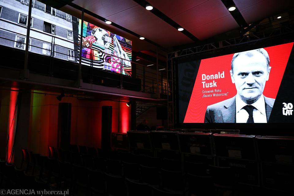Donald Tusk Człowiekiem Roku 'Gazety Wyborczej'
